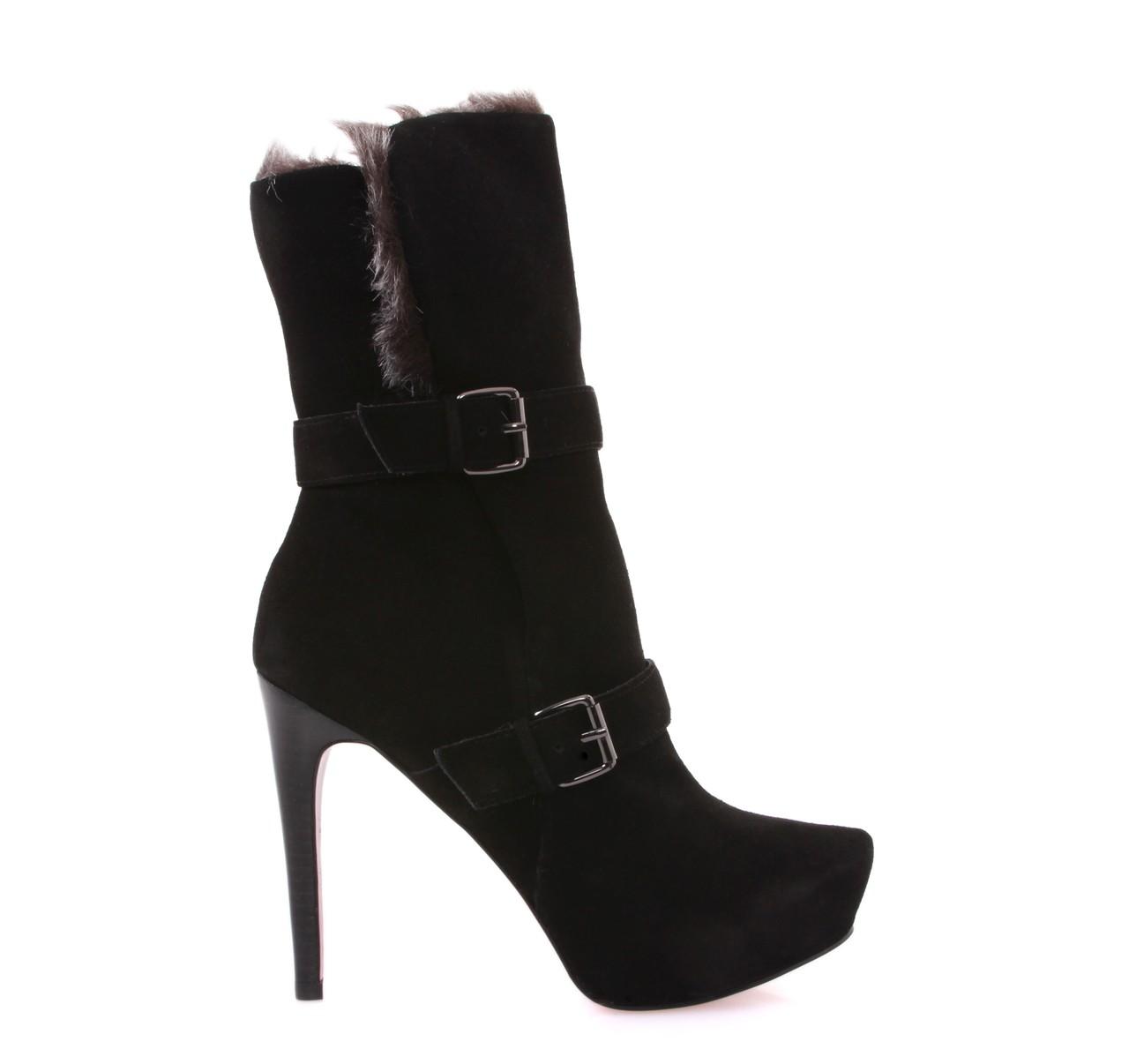 cd780c28684 Best Offers > Ενήλικες > Παπούτσια > Μπότες & Μποτάκια / ΓΥΝΑΙΚΕΙΑ ΜΠΟΤΑΚΙΑ  ΨΗΛΟΤΑΚΟΥΝΑ PARIS HILTON (BLACK) CANDACE - GoldenShopping.gr