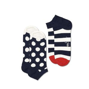 UNISEX ΚΑΛΤΣΕΣ 2 PACK DOTS STRIPES HAPPY SOCKS